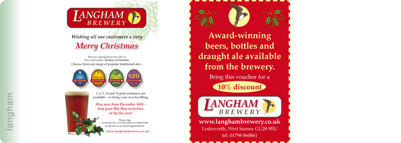 Langham Brewery Advertising