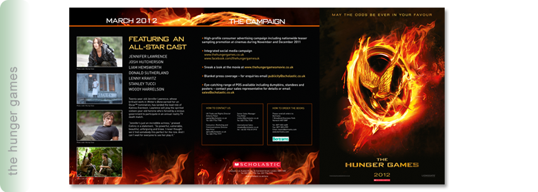 Hunger Games Brochure
